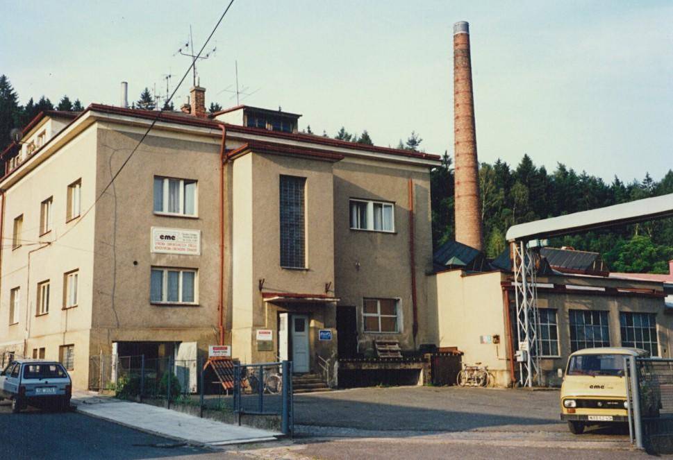 Sídlo společnosti Rybničná 500